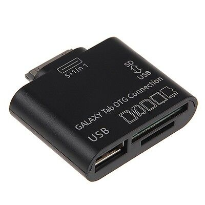 5 in 1 USB Camera OTG Connection Kit for SAMSUNG GALAXY Tab 10.1 P7500 P7510