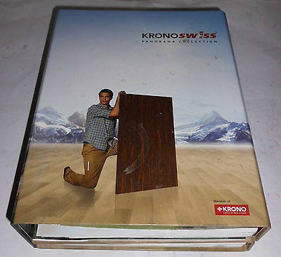 ! ! ! Musterbuch, Mustertafel, Panorama Collection, Kronoswiss - Produkte ! ! !