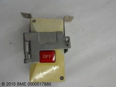 Manual Motor Starter 3 Pole With Adjustable Overloads And Lockout Device