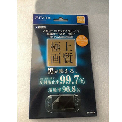 HORI Tempered Glass Film Screen Protector For Sony PlayStation PS Vita PSV 1000