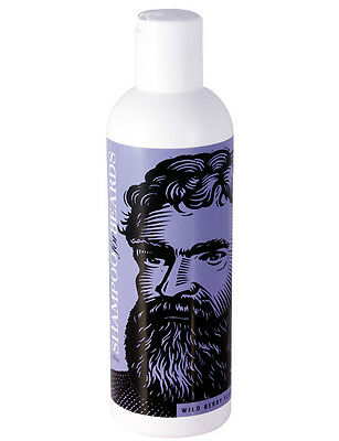 Beardsley Ultra Shampoo For Beards Moustache Wild Berry Scent 237ml