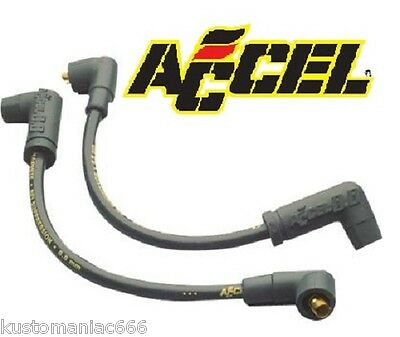 Set cavi candele Accel 8 mm 300+ x Harley Davidson Dyna 99-up e Buell 99-02 NEW!