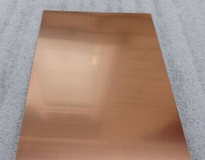 Copper Sheet Metal  0.4mm - Many Sizes