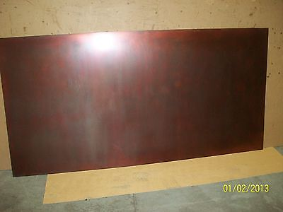 Bronzed Copper Sheet Metal 1000mm x 500mm x 0.7mm thick