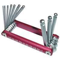 10 Piece Ball Hex Key Set - SAE