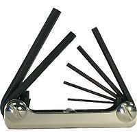7 Piece Metric Fold-Up Hex Key Set