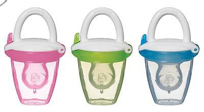 Munchkin Baby Food Feeder with Hygienic Cap - Perfect for Out and About!