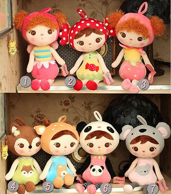 "19"" New Metoo Cute Animal Girls Stuffed Plush Toy Baby Doll Gift Home Decoration"
