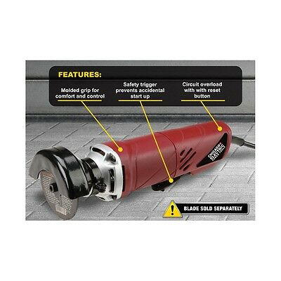 """3"""" inch Electric Cut-Off Tool Corded Grinder Sheet Metal Exhaust Automotive USA"""