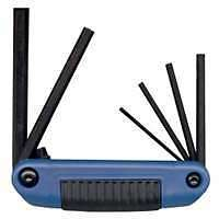 "6 Piece Metric Ergo Foldâ""¢ Hex Key Set"