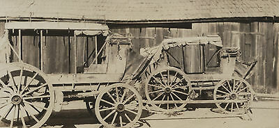 Yreka, California~Stagecoaches~Western American~Original Photograph