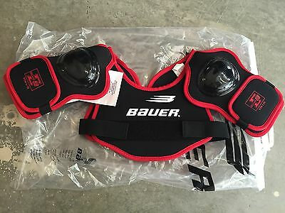 Bauer Impact E88 Hockey Shoulder Pads (YOUTH LARGE) Brand New In Package