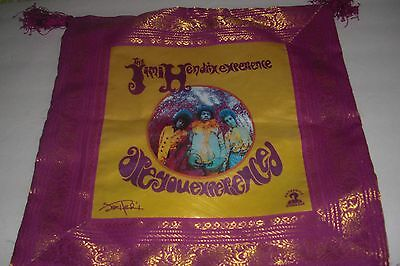 Jimi Hendrix 60s musician Throw Pillow Case Are you Experienced psychedelic art