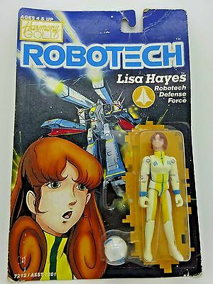 Vintage Robotech Lisa Hayes Action Figure*Defense Force**Harmony Gold*