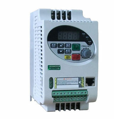 New Professional Update Vector Frequency Inverter Single Phase 220V 1.5KW SVPWM