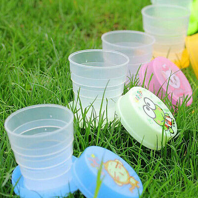 Retractable Folding Mini Cup Telescopic Collapsible Outdoor Travel Portable Cup