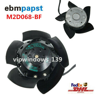 Original ebmpapst Fan M2D068-BF 400V for Siemens Spindle Motor 1PH710 Series new