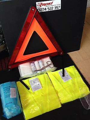 NISSAN Car Safety Kit Warning Triangle First Aid Kit Jacket