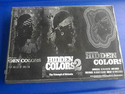 Hidden Colors 1, 2, and 3 DVD Documentary