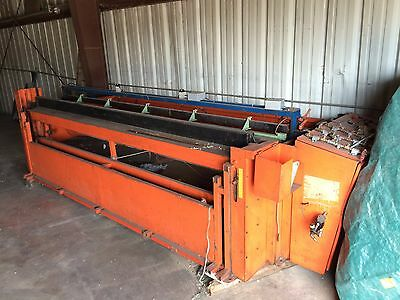 Wegner Plastic Sheet Bending Machine
