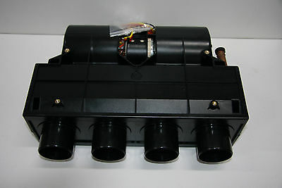 Under Dash Heater  4 Outlet 24 volt with Switch and Heater Tap Kit
