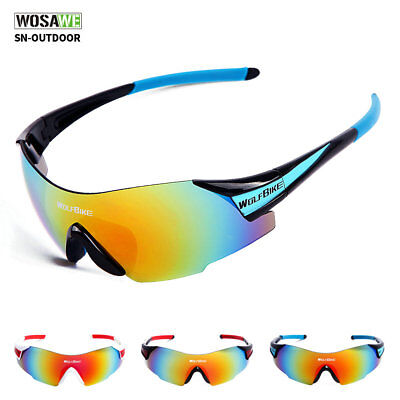 Unisex Bicycle Cycling Sunglasses Sport Glasses Bike Goggle UV400 Sun-protection