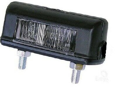 Number Plate Light Incandescent 12V