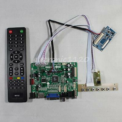 USB HDMI VGA AV Audio FPV Driver Board Work for 8Inch 1024x768 LCD Panel