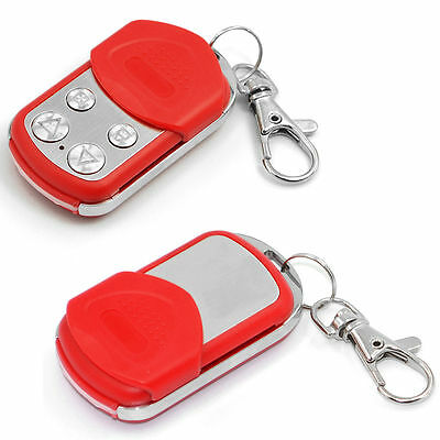 Red Remote Control Universal Electric Garage Gate Door Cloning Key Fob 433.92mhz