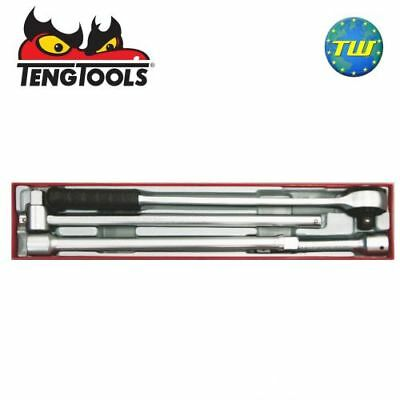 "Teng 4pc 3/4"" Drive Ratchet & Accessory Set TTX3404 - Tool Control System"
