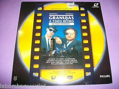 Granujas A Todo Ritmo - Laser Disc - The Blues Brothers - Like New - Pal