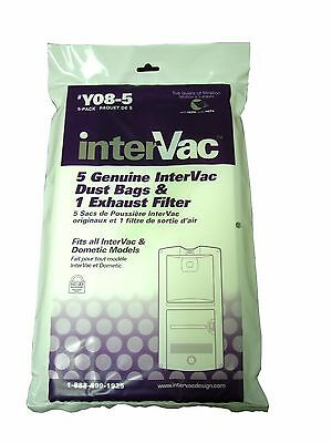 Intervac Y08-5 Replacement Bags - 5 pack