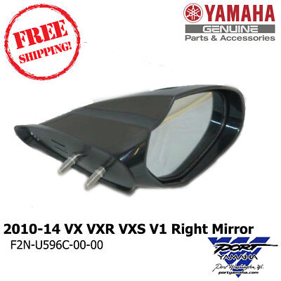 Yamaha WaveRunner 2010-2014 VX VXR VXS V1 Mirror Right Hand Cruiser Deluxe Sport