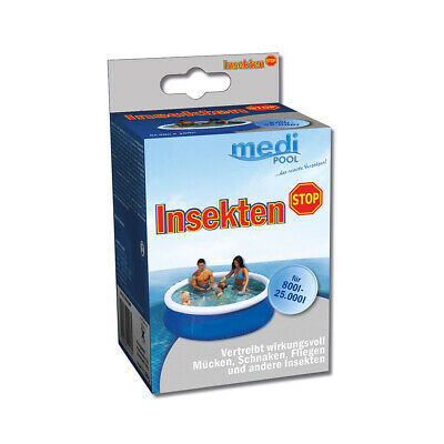 Insekten - Stop 180g, 6 x 30g Tabletten, für Pools bis 25.000L