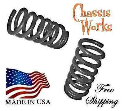 """1997-2004 Ford F150 Expedition 2WD 3"""" F Drop Lowering Coil Springs Lowering Kit"""