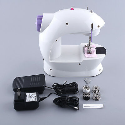 New Multifunction Portable Electric Mini Sewing Machine Household Home Desktop