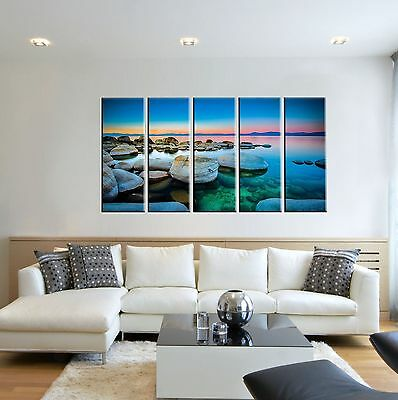 Canvas Prints FRAMED - Beach Prints On Canvas - Wall Art Canvas - Art Prints
