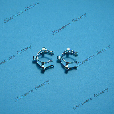 24#,Stainless Steel Clip,Neck Clamp,For 24/40,24/29 Glass Ground Joint,2Pcs/Lot