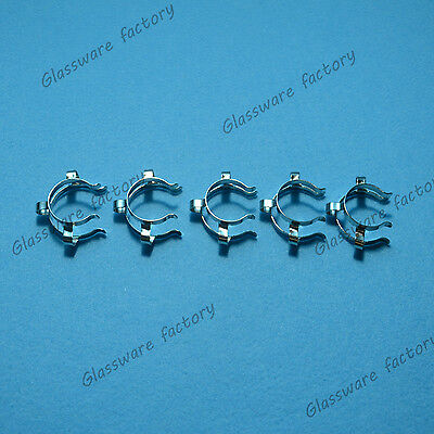 24#,Stainless Steel Clip,Neck Clamp,For 24/40,24/29 Glass Ground Joint,5Pcs/Lot