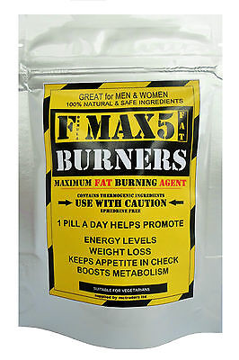 Max Strength Fat Burner Capsules / Diet Pills & Weight Loss Slimming Tablets New