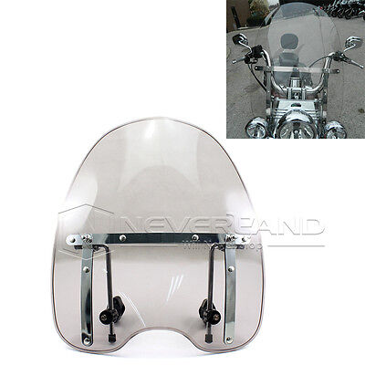 Wind Screen Windshield For Harley Davidson Dyna Softail Sportster Road King New