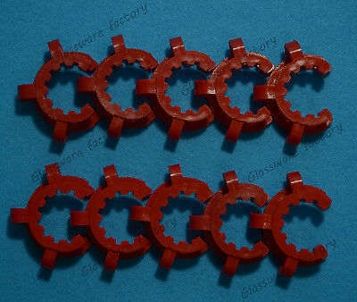 29# Lab Plastic Keck Clamp Clip for 29/32 or 29/42 Glass Joints 10PCS