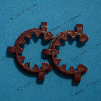 45# Plastic Clip Clamp use on Glass Standard Ground Joint,2PCS