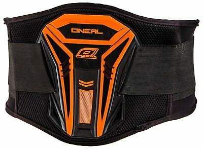 Oneal NEW 2016 Mx PXR Black Orange Lower Back Motocross Dirt Bike Kidney Belt