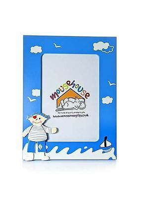 Pirate Photo Frame For Boys Blue Nursery Bedroom Mousehouse