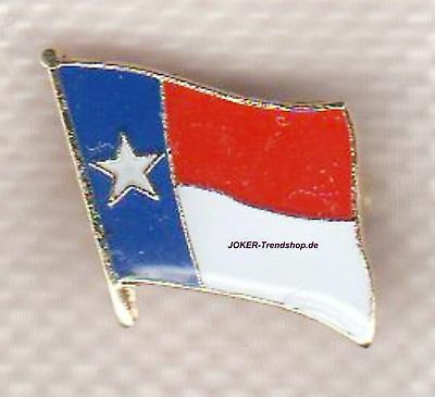 Anstecker Texas Fahne Pin CSA Dallas Austin Houston El Paso Ranger