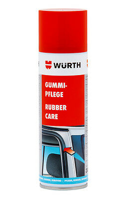 Genuine Wurth Gummi Pflege Rubber Care Aerosol Spray - 300ml