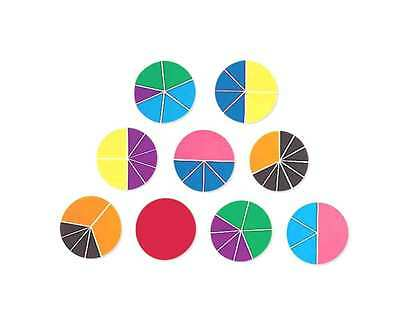 Learning Resources - Rainbow Fractions Circle Set - 51 piece Maths teaching aid