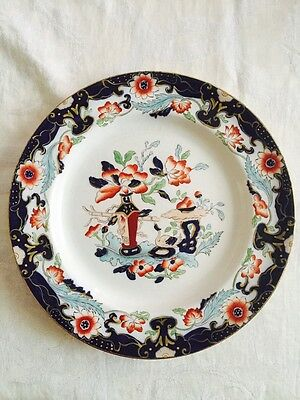 Vintage Mason's Patent Ironbound China 10 Dinner Plates