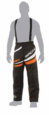 Drift Racing Men's Snowmobile Non Insulated Pants - Black / Orange 5255-33*